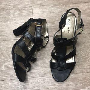 Tahiti Leather Heels